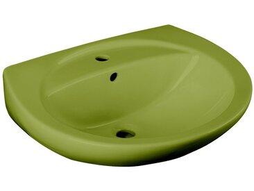 CORNAT Cornat Keramik Waschtisch/ Waschbecken »Moosgrün«, Breite 59,5 cm, moosgrün