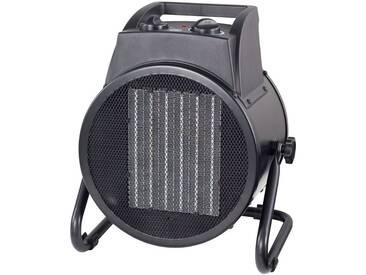 ROWI Keramikheizgerät »HKG 5000/2/1«, 5 kW, CEE Stecker, schwarz, schwarz