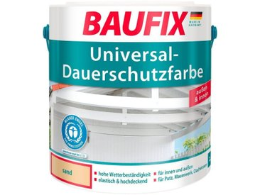 Baufix BAUFIX Acryl Buntlack »Universal-Dauerschutzfarbe«, sand, 2,5 L, natur, 2.5 l, sand