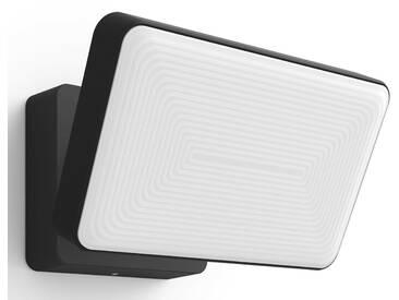 Philips Hue LED Außen-Wandleuchte »Welcome«, 1-flammig, schwarz, 1 -flg. /, schwarz