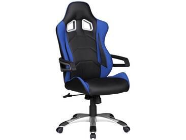 Amstyle Chefsessel »SPEED«, blau, blau-schwarz
