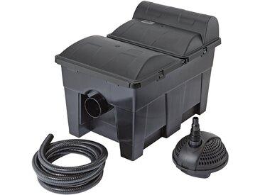 Pontec PONTEC Teichfilter »MultiClear Set 15000«, 3500 l/h, schwarz, schwarz