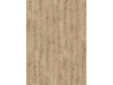 PARADOR Laminat »Basic 400 - Eiche geschliffen«, 1285 x 194 mm, Stärke: 8 mm, braun, braun