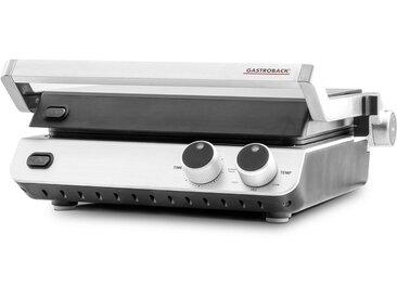 Gastroback Kontaktgrill Design BBQ ProDesign BBQ Pro 42537, 2000 W, aus Edelstahl