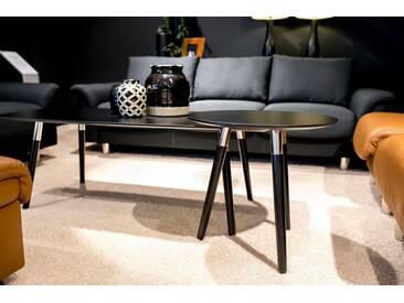 Stressless® Rechteckiger Couchtisch »Style« mit schwarzen Holzbeinen, Tischplatte in 3 Farben, schwarz, Beine Buche massiv, schwarz