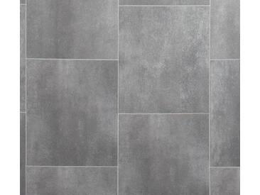 Andiamo ANDIAMO Vinylboden »Strong«, Fliese braun-grau, grau, 400 cm, braun/grau