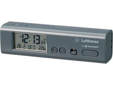 LUFTHANSA Weltzeitwecker »mit Ortszeiten für 62 Städte inkl. Thermometer«