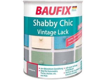 Baufix BAUFIX Acryl Buntlack »Shabby Chic«, Antik Lack, antikgrau, 750 ml, grau, 0.75 l, grau