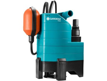 GARDENA Schmutzwasserpumpe »7500, 01795-61«, 7.500 l/h max. Fördermenge, blau, blau