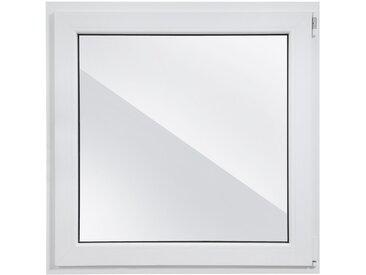 RORO Türen & Fenster RORO Kunststoff-Fenster »Classic 400«, BxH: 100x100 cm, weiß, in 2 Varianten, weiß, rechts, weiß
