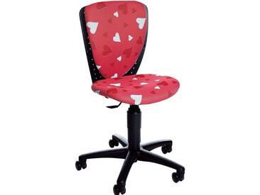 TOPSTAR Drehstuhl, für Kinder und Jugendliche geeignet, rosa, Herzen-pink