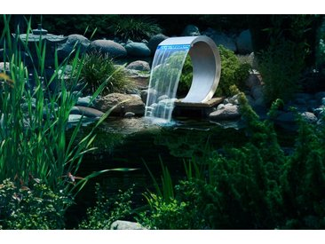Ubbink UBBINK Wasserfall »Mamba mit LED«, silberfarben, silberfarben