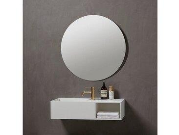 Badspiegel »Herning Rund«, Ø 80 cm, weiß, weiß