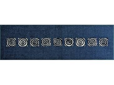 wash+dry by Kleen-Tex Läufer »Pan«, rechteckig, Höhe 7 mm, In- und Outdoor geeignet, grau, 7 mm, grau-weiß