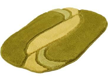 Kleine Wolke Badematte »Sinfonie« , Höhe 20 mm, rutschhemmend beschichtet, fußbodenheizungsgeeignet, grün, 20 mm, klee