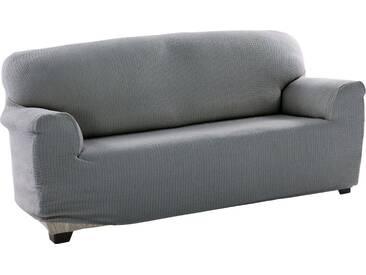 sofaskins Sofahusse »Dario«, mit leichtem Struktur-Effekt, grau, Mischgewebe, hellgrau