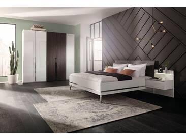 nolte® Möbel Schlafzimmer-Set »concept me 230«, mit Koffertüren, weiß, Komplettausführung inkl. Beleuchtung, Liegefläche 180x200, Schrankbreite 250, Liegefläche 180x200