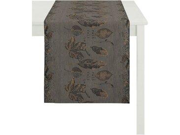 APELT Tischläufer »3302 INDIAN SUMMER« (1-tlg), schwarz, anthrazit