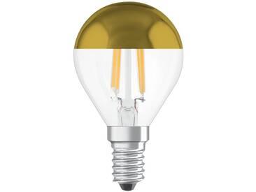 Osram LED Retrofit Classic A Mirror LED-Lampe »ST CLAS P 37 CL 4 W/827 E14«, weiß, weiss
