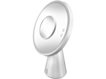 Kleine Wolke KLEINE WOLKE Spiegel »Genius Mirror«, mit Bluetooth Lautsprecher und USB-Anschluss, weiß, weiß