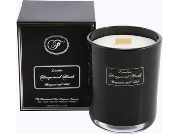 Fine Fragrance Company Duftkerze »London - Hampstead Heath«, schwarz, 12 cm hoch, schwarz