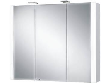 jokey Jokey Spiegelschrank »Jarvis« Breite 80 cm, mit LED-Beleuchtung, weiß, weiß