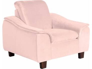 Max Winzer® Sessel »Alessio« mit abgerundeter Rückenlehne, rosa, rosé