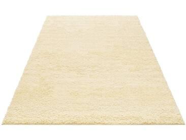 my home Hochflor-Teppich »Bodrum«, rechteckig, Höhe 30 mm, natur, 30 mm, beige