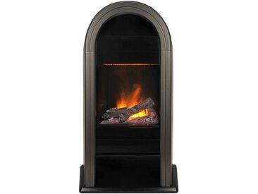 Glen Dimplex EWT Elektrisches Kaminfeuer »Romero«, schwarz, mit Fernbedienung, schwarz, schwarz