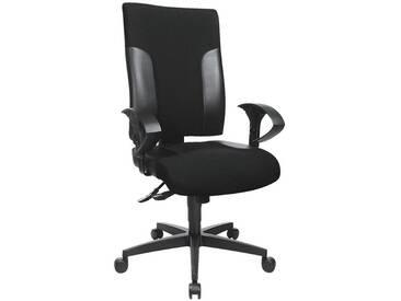 TOPSTAR Bürostuhl ohne Armlehnen »Two 20«, schwarz-schwarz
