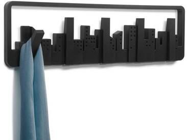 Umbra Wandhaken »Skyline«, schwarz, Schwarz