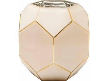 KARE Design Vase Art Pastell, rosa, (Ø/H): 23/22 cm, pink