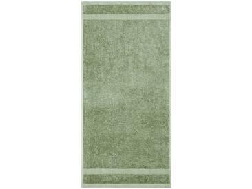 Dyckhoff Handtücher »Planet«, aus reiner Bio-Baumwolle (2 Stück oder 6 Stück), grün, Walkfrottee, salbei