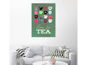 Posterlounge Wandbild - Elisabeth Fredriksson »Time for tea«, bunt, Poster, 70 x 100 cm, bunt