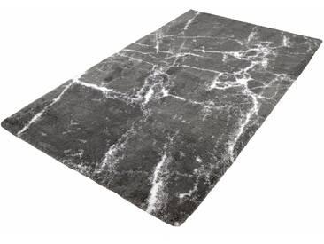 Kleine Wolke Badematte »Como« , Höhe 10 mm, rutschhemmend beschichtet, fußbodenheizungsgeeignet, grau, 10 mm, platinfarben