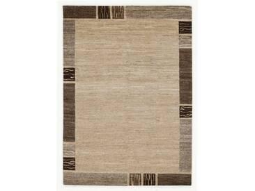 OCI DIE TEPPICHMARKE Teppich »Natura Silk Greny«, rechteckig, Höhe 20 mm, handgeknüpft, natur, 20 mm, natur