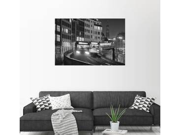 Posterlounge Wandbild - Dennis Siebert »Hochbahn«, bunt, Alu-Dibond, 120 x 80 cm, bunt