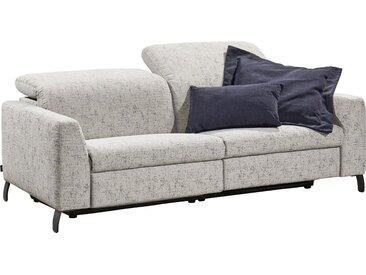 SCHÖNER WOHNEN-Kollektion Big-Sofa »Flow«, mit manueller Kopfteilverstellung, grau, ohne motorischer Relaxfunktion, grey Lola