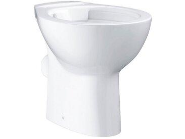 Grohe GROHE Stand-WC »Bau Keramik«, spülrandlos, alpinweiß