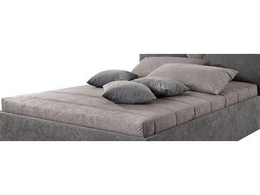 Westfalia Schlafkomfort Tagesdecke, grau, grau