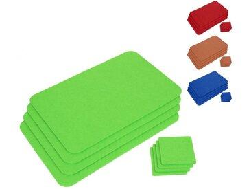 GRÄWE Platzmatten-Set Polyester, grün, grün