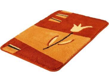 Kleine Wolke Badematte »Tulpa« , Höhe 20 mm, rutschhemmend beschichtet, rot, 20 mm, chili