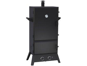 El Fuego EL FUEGO Gasgrill »Portland XXL«, BxTxH: 80x52x145 cm, schwarz, schwarz