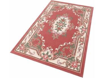 THEKO Teppich »Ming«, rechteckig, Höhe 14 mm, Hochwertiges Acrylgarn, rosa, 14 mm, rosa