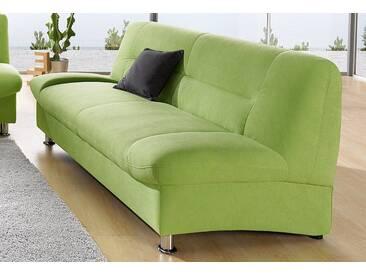 DOMO collection 3-Sitzer, grün, 199 cm, hellgrün