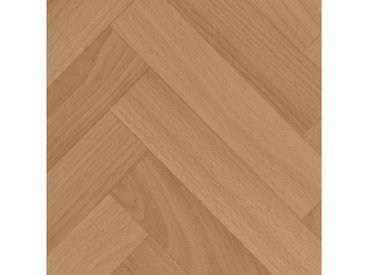 Bodenmeister BODENMEISTER Vinylboden »Skagen«, Fischgrät Buche, Breite 400 cm, braun, 1 x 400 cm, buchefarben