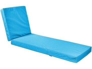 OUTBAG Auflage »Flat PLUS«, wetterfest, für den Außenbereich, B/L: 60x185 cm, blau, 1 Auflage, aquablau
