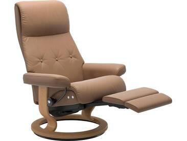 Stressless® Relaxsessel »Sky« mit Classic Base und LegComfort™, Größe L, Gestell naturfarben, braun, almond PALOMA
