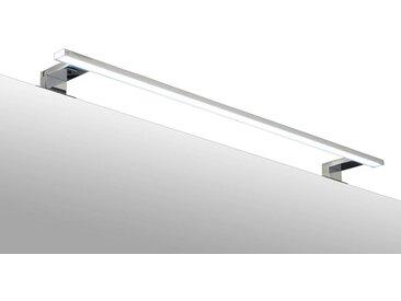 ADOB LED-Aufsatzleuchte »Spiegelleuchte«, 80 cm, silberfarben, eckig, silberfarben