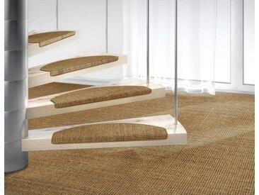 Dekowe Stufenmatte »Mara S2«, stufenförmig, Höhe 5 mm, Obermaterial: 100% Sisal, braun, 1 St., haselnuss